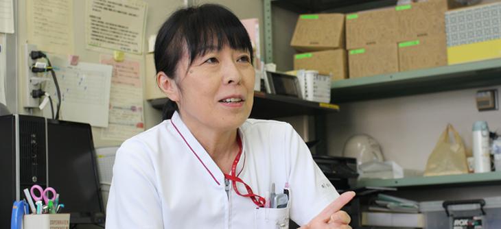 総看護師長 横山真由美